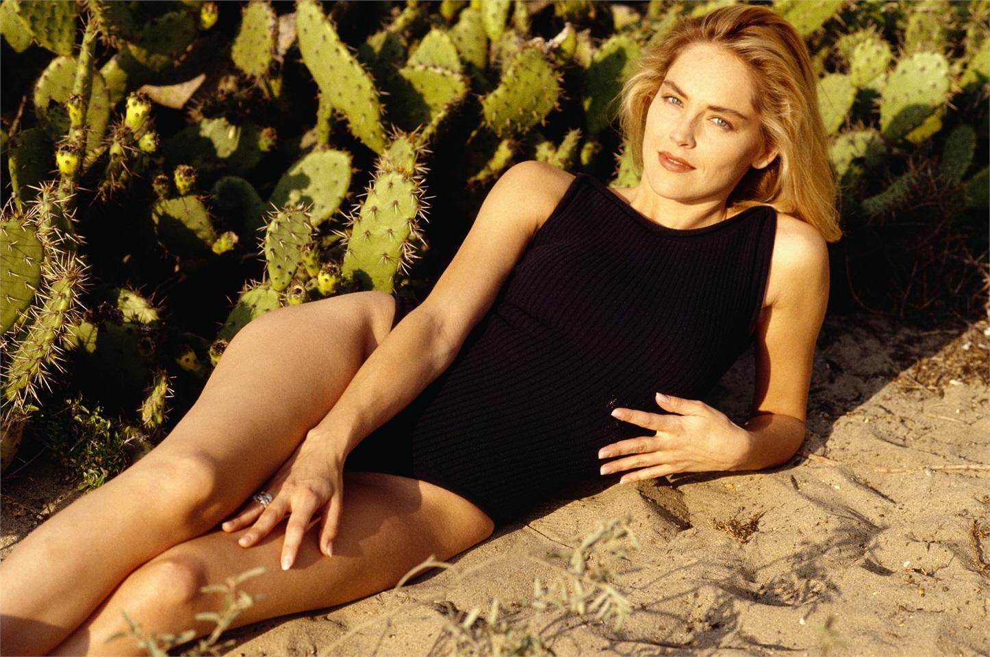 Sharon Stone L Ultima Vera Diva Cond 233 Nast Live